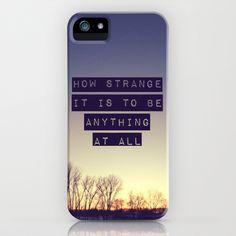How Strange iPhone Case by Josrick (Neutral Milk Hotel lyrics)