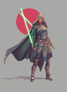 ArtStation - Star Wars spy chara, Nico Fari