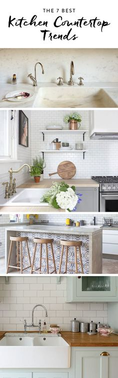 Discover these 7 gorgeous kitchen countertop trends we're absolutely loving.