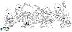 ninjago coloring pages | LEGO Ninjago Coloring Pages to Print