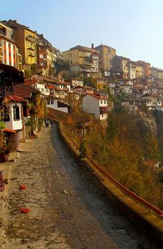 Autumn sunrise in Veliko Tarnovo, Bulgaria | by camwears
