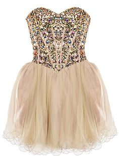 Champagne Bubbles Dress | Homecoming Prom Dresses