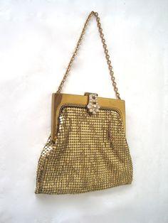 Vintage whiting and davis mesh purse — img 9