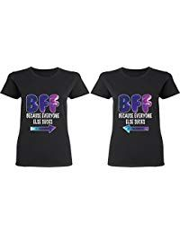 71b7282e08 Couples Apparel BFF Because Everyone Else Sucks - BFF Matching Shirts - Best  Friend Forever T