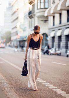 Zara palazzao pants | nom de plumed