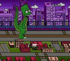 Bart's Nightmare - MegaDrive - 1993