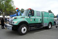 Forest Fire Truck