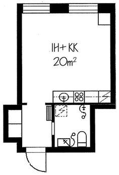 Talontie, Etelä-Haaga, Helsinki, 1h+kk 20 m², SATO vuokra-asunto