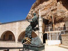 Statue of Jesus, Convent of St. Takla, Maaloula, Syria