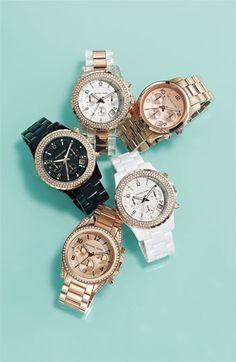 Michael Kors OFF!>> Every girl needs a Michael Kors watch or 2 Cheap Michael Kors Watches Cheap Michael Kors, Handbags Michael Kors, Michael Kors Watch, Mk Handbags, Stylish Watches, Watches For Men, Gold Watches, Mickeal Kors, Mk Watch