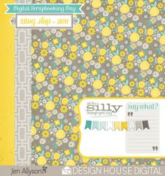 Design House Digital Blog Hop *Free Download | Jenallyson - The Project Girl - Fun Easy Craft Projects including Home Improvement and Decorating - For Women and Moms