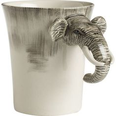 Elephant Mug from Pier 1 imports. Saved to Cups and Mugs. Shop more products from Pier 1 imports on Wanelo. Elephant Mugs, Elephant Love, Elephant Nursery, Giraffe, Cute Mugs, Funny Mugs, Elephants Never Forget, Sweet Station, Animal Mugs