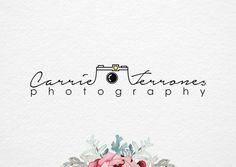 Hand drawn Photography logo Premade Photography por artWallgrays