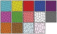 Examples of the 14 known types of convex pentagon tilings.  Four of the types were found by a homemaker with no education beyond high school.  ( http://en.wikipedia.org/wiki/Marjorie_Rice )  Can you find any  more?