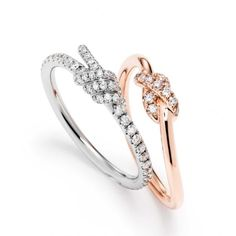 love these for a right hand ring or anniversary ring. Swarovski Jewellery Summer Collection