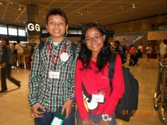 with Bioraka Hanji PutraYuhan in airport Narita :)