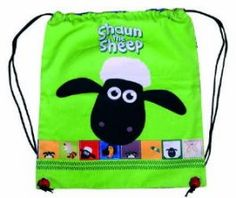 Bright light ... bright light ;) Cool Shaun the Sheep neon bag!!