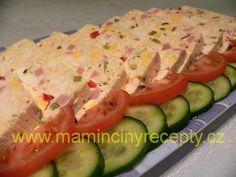 Sýrová pochoutka Zucchini, Sushi, Vegetables, Ethnic Recipes, Food, Essen, Vegetable Recipes, Meals, Yemek