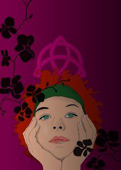 Tema dell'esercizio: Ricreare la copertina del libro Figlia di strega pubblicato da mondadori.