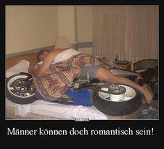 Männer können doch romantisch sein!