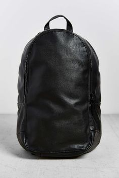 Mosson Bricke Pebbled Faux Leather Backpack