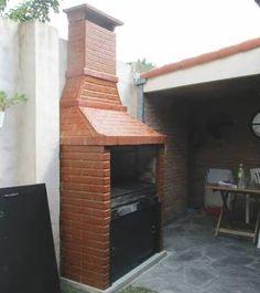 Resultado de imagen para asadores de ladrillo con chimenea Bechamel, Barbacoa, Outdoor Decor, Home Decor, Wood, Fire Places, Gardens, Plants, Balcony