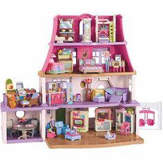 Fisher-Price Loving Family Dollhouse - Walmart.com