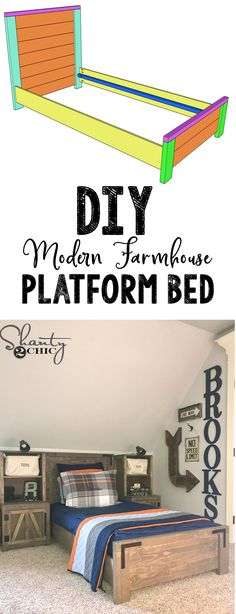 2x4 Bed Plans | Pinterest | Twin beds, Bed frames and Twins