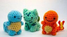 Pokemon Amagurumi - I actually like these.