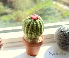 DIY Crochet Cactus Pattern - Pops de Milk