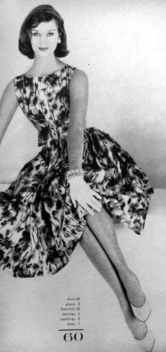 a7d33c8811cc 1959 Glamour 1950s Fashion, Fashion Mag, Fashion Photo, Vintage Fashion,  Fashion Outfits