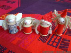 8 Christmas Crafts For Kids To Make - from @Juanita Martin Charlotte