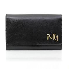Personalised Black Leather Purse - Gold Name Wedding Gifts For Men, Wedding Men, Father Of Groom Gift, Ring Bearer Gifts, Cheap Purses, Practical Gifts, Leather Purses, Anniversary Gifts, Shopping Bag