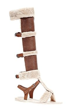 Nomad Sandal by Brother Vellies for Preorder on Moda Operandi