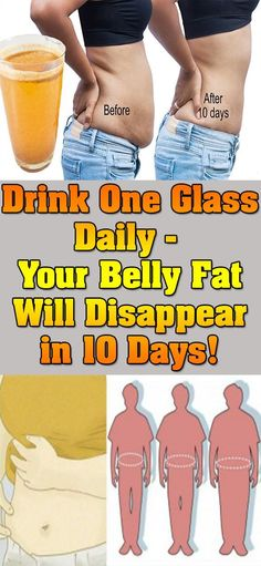 DRINK ONE GLASS DAILY – YOU BELLY FAT WILL DISAPPEAR IN 10 DAYS! – Yoo Tips