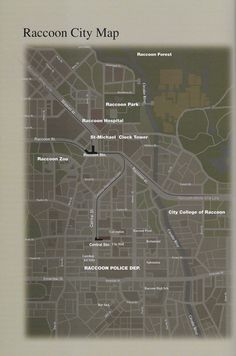 Resident Evil Raccoon City, Apocalypse Art, Arte Robot, City College, Kendo, Metal Gear, St Michael, Mortal Kombat, Maps