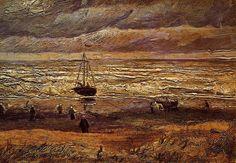 "VAN GOGH, ""SEA AT SCHEWENINGEN"""