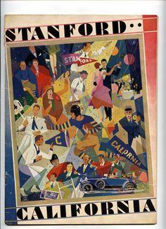 1928 Cal Stanford Big Game Program