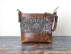 Concealed Carry Leather Purse Handbag