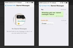 WhatsApp introduces 'starred messages' feature that lets you bookmark important messages.