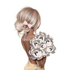 Fashion Images, Fashion Art, Girl Fashion, Sweet Girls, Cute Girls, Glamour Decor, Fashion Clipart, Girl Clipart, Lace Tattoo