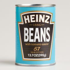Heinz Baked Beans - the one, the only for baked beans on toast WITH white cheddar on top...........YUM!!!!!