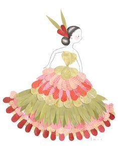 Flora series The Flamenco