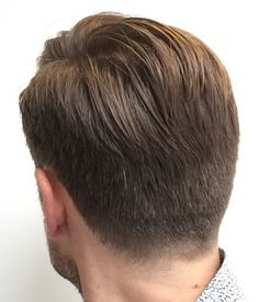 Fashionable Mens Haircuts. : Back view from my fresh haircut! #menshair #barbershop #fade #taper #pompadour #