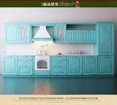 В целом весь дом обычай деревянные шкафы на заказ сочетание современных минималистских кухонные шкафы на заказ шкаф интегрирован - Taobao