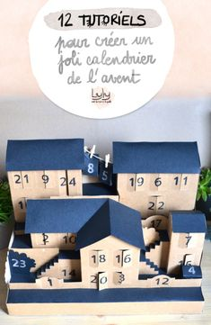 Crafts Paper Ideas – Modern Home Diy For Kids, Crafts For Kids, Christmas Diy, Xmas, Ramadan Crafts, Advent Calenders, Countdown Calendar, Holiday Gift Guide, Diy Tutorial