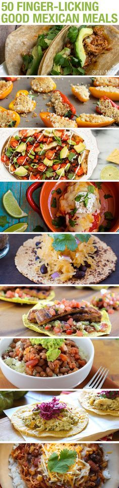 50 Mexican Meals - all made skinny!
