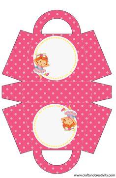 Enfant Maisonnette: Party Kit Strawberry Shortcake bébé Pour Imprimer gratuit