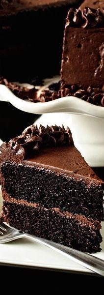 Black Magic Cake - Double Double Chocolate
