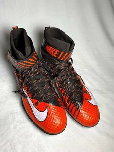 sports shoes 5a1ef d445a NIKE Men s  Lunarbeast  Nikeskin  Football  Lacrosse  Cleats Shoes Size 16  NEW